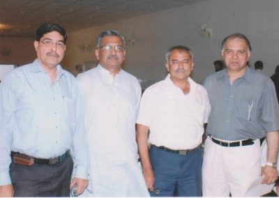 Shujaat, Masood and Inam