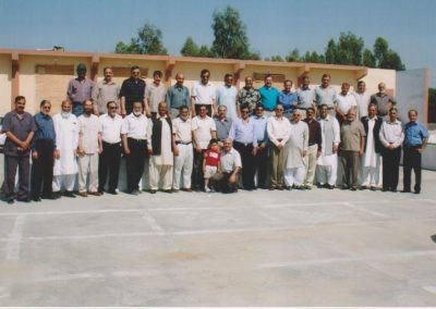They were all at Cadet College Attock