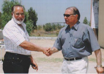 Welcoming Dr Akbar