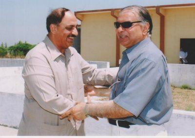 With Zia ullah Shuakat